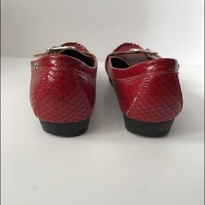 Rampage Shoes - Women's red flats